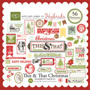 This & That Christmas Element Pack #1