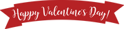 Valentine Banner SVG Cut File