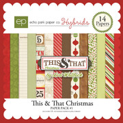 This & That Christmas Paper Pack #1
