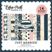 Just Married Paper Pack #2