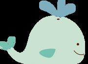 Whale SVG Cut File