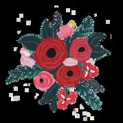 Floral Bunch #2 SVG Cut File