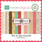 This & That Graceful Paper Pack #2