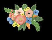 Floral Bunch #3 SVG Cut File