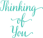 Thinking Of You SVG Cut File