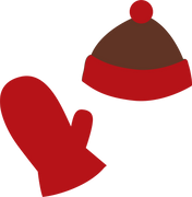 Hat and Mitten SVG Cut File
