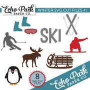 Winter SVG Cut Files #1