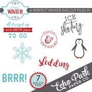 A Perfect Winter SVG Cut Files #5