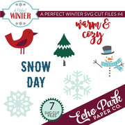 A Perfect Winter SVG Cut Files #4