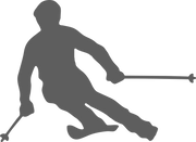 Skier SVG Cut File