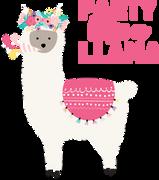 Llama SVG Cut File