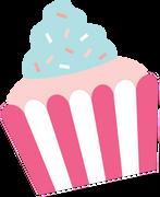 Cupcake #3 SVG Cut File