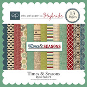 Times & Seasons Paper Pack #2