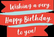 Happy Birthday Banner SVG Cut File