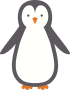 Penguin #2 SVG Cut File