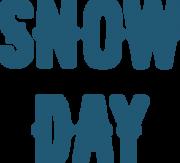 Snow Day SVG Cut File