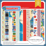 Passport Paper Pack #1