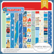 Passport Paper Pack #2