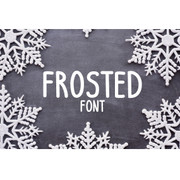Frosted Font