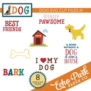 Dog SVG Cut Files #1