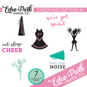 Cheer SVG Cut Files #1