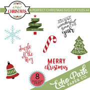 A Perfect Christmas SVG Cut Files #4