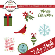 A Perfect Christmas SVG Cut Files #2