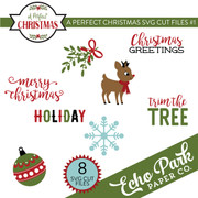 A Perfect Christmas SVG Cut Files #1