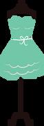 Dress Stand #3 SVG Cut File