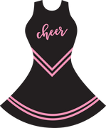 Cheer Uniform SVG Cut File