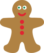 Gingerbread SVG Cut File