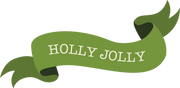 Holly Jolly Banner SVG Cut File