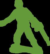 Army Man SVG Cut File