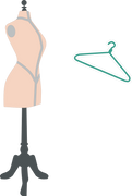 Dress Form SVG Cut File