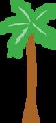 Palm Trees SVG Cut File