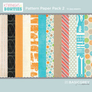 Bow Ties Paper Pack 2