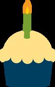 Cupcake #5 SVG Cut File