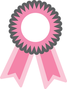 Award Ribbon SVG Cut File
