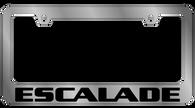Cadillac Escalade License Plate Frame - 5205WO-BK