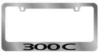 Chrysler 300C License Plate Frame - 5438WO-BK