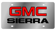 GMC Sierra License Plate - 1604-1