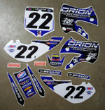Orion Powersports Two Two Motorsports  KLX110-DRZ110 Style Graphics