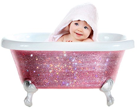 Baby Bath Time
