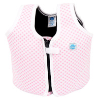 Splash About Float Jacket Pink Gingham