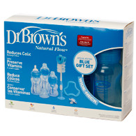 Dr Brown's Special Edition Blue Gift Set Wide Neck