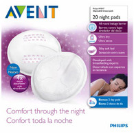 Avent Disposable Night Time Breast Pad 20PK
