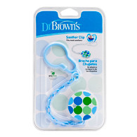 Dr Brown's Soother Clip Blue