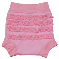 Splash About Happy Nappy Pink Frilly Bum