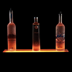 1 Tier LED Liquor Shelf Display