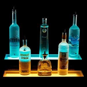 2 Tiered LED Liquor Shelf Display